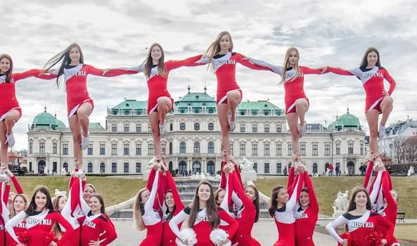Team Austria erfolgreich bei Cheerleader WM