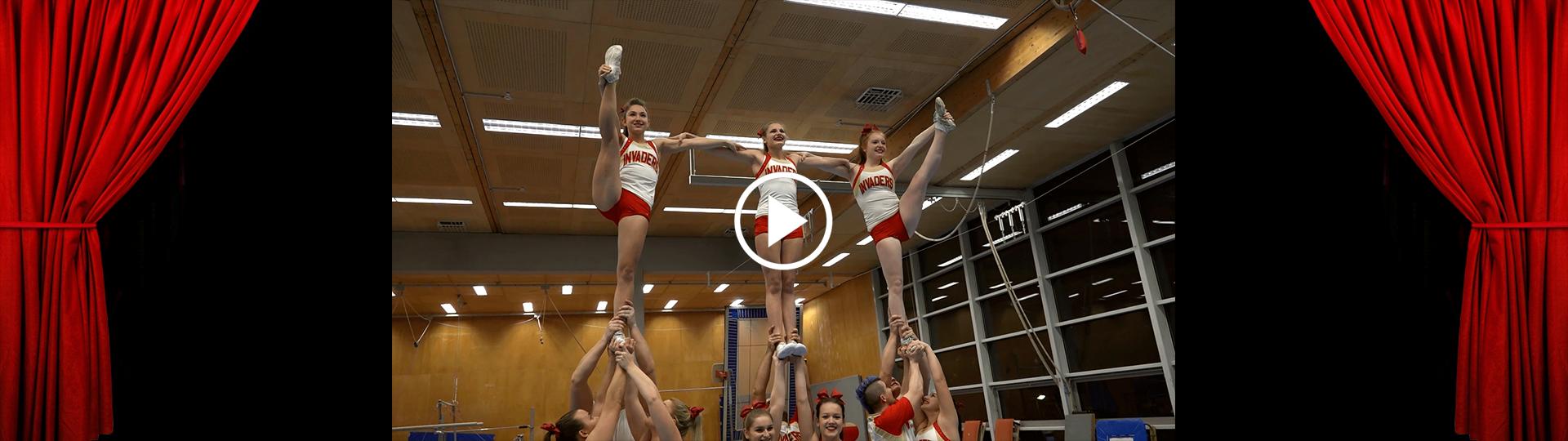 Invaders Cheerleader und Danceteam Trailer