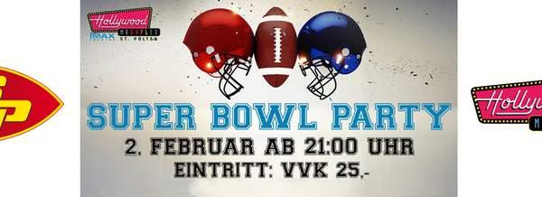 MEGA Super Bowl Party im Megaplex St. Pölten