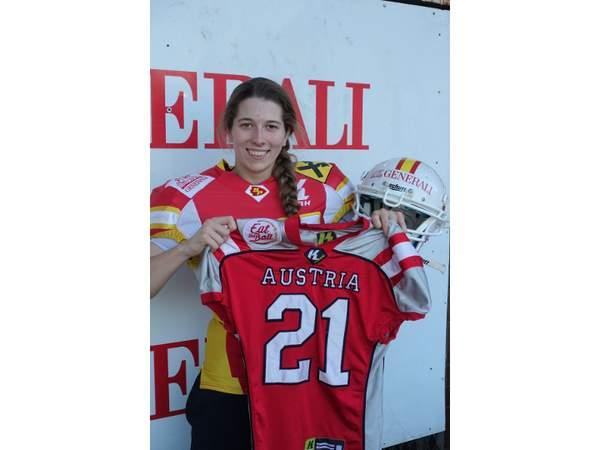 Patricia Stefenelli erneut im Nationalteam