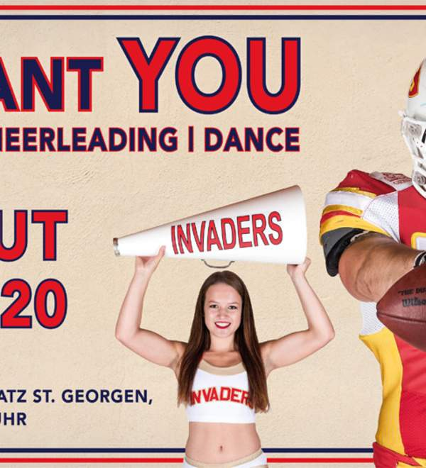 TRYOUT American Football & Cheerleading
