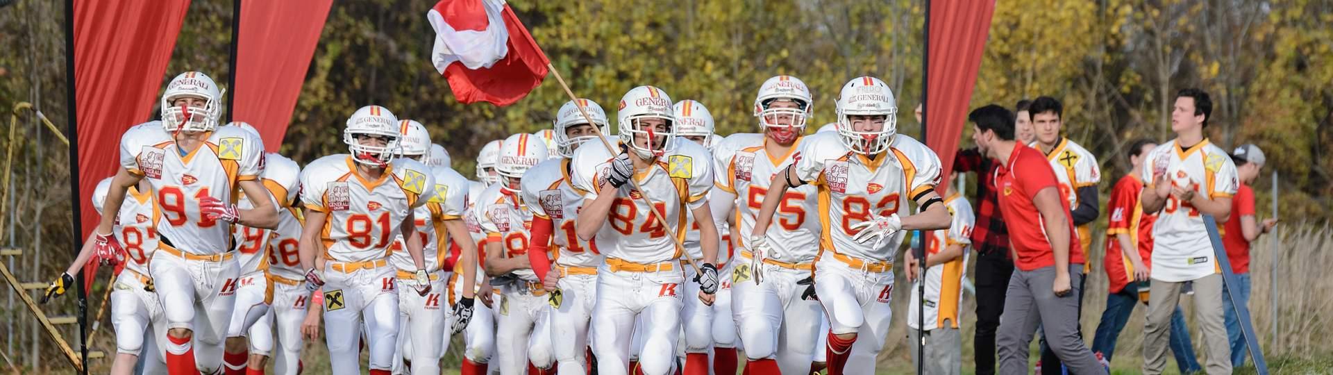 St. Pölten Invaders American Football Nachwuchs Gameday