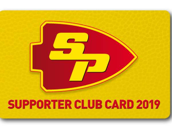 Supporter Club Card 2019