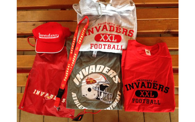 Invaders Merchandising